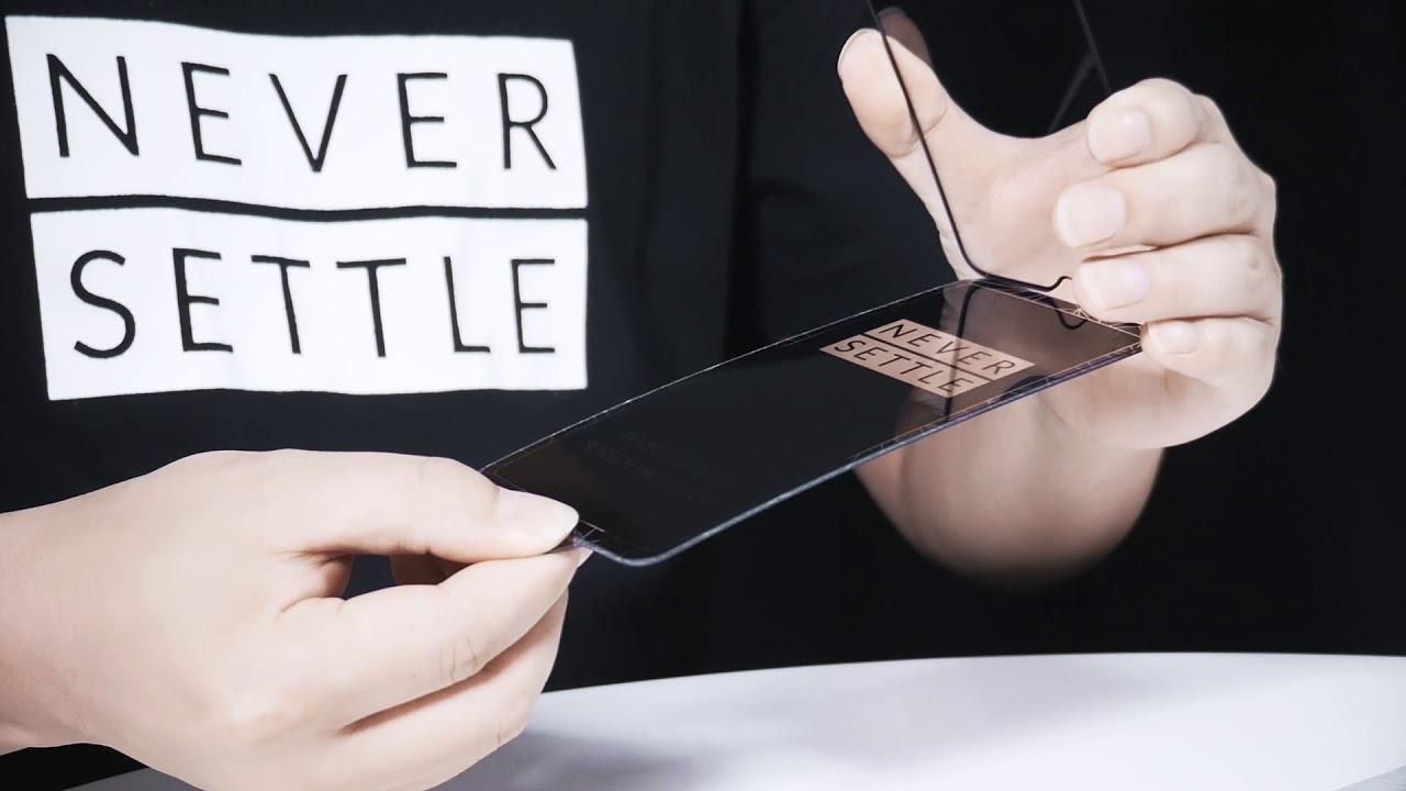 Фирменное стекло OnePlus 3D Tempered Glass (Black) 5431100069 для OnePlus 6T video preview