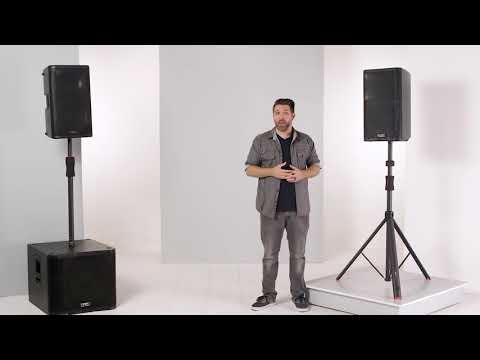 Gator Frameworks iD Series Speaker & Sub Pole Stands