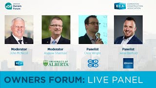 "Edmonton Construction Association – Owners Forum ""Live"" Panel"