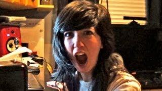Recording for MyMusicShow and Sabrina Screams