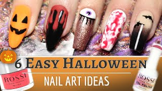 6 Easy Halloween Nail Art Ideas 👻🎃👻