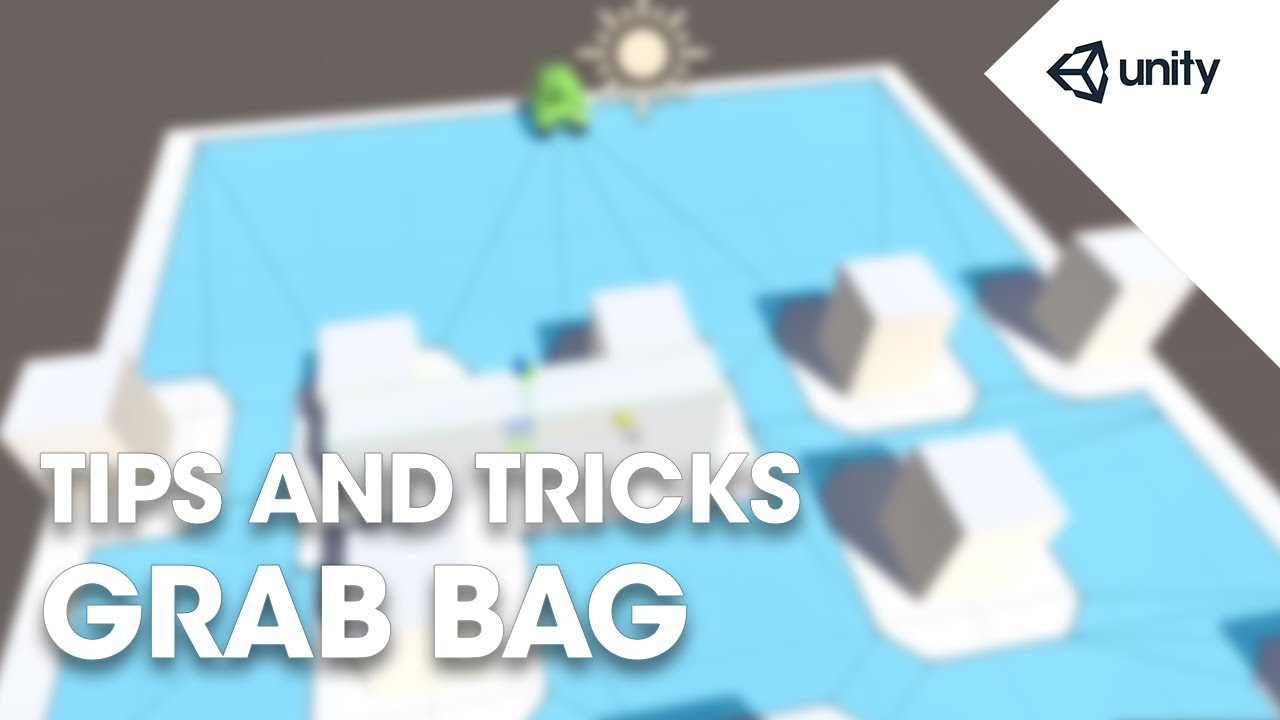 Live Training Sep. 21st, 2015: Unity Tips and Tricks Grab Bag