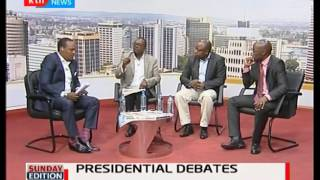 Dismas Mokua's his take on Raila Odinga and Uhuru's turn up for the presidential debate