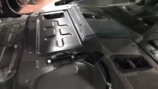 Пусть Nissan Pathfinder большой и недешёвый, но шумоизоляция ему точно не помешает. Обзор заводской