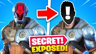 *NEW* Season 6 SECRET SKIN face REVEALED... (Who's Behind The Mask?)