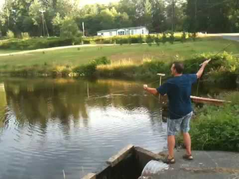 Fishing the pond
