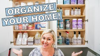 LAUNDRY ROOM ORGANIZATION WITH THE HOME EDIT!