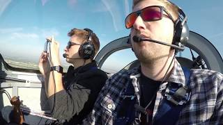 RV Aircraft Video - Morning Motivation - Flying into the LAA Rally in a Van's RV-6