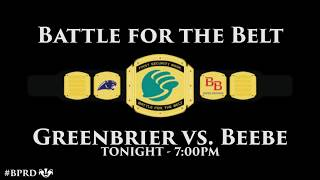BHS Football vs. Greenbrier Hype