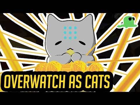 """Overwatch but with Cats – Support Heroes – """"Katsuwatch"""""""