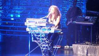 Alicia Keys Performing Like the Sea Live at the Nokia Theater in Grand Prairie, TX 2010