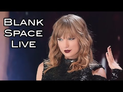 Taylor Swift live Blank Space 2018 in Texas.