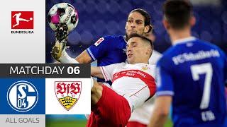 Penalty brings Stuttgart back | FC Schalke 04 - VfB Stuttgart | 1-1 | All Goals | Matchday 6
