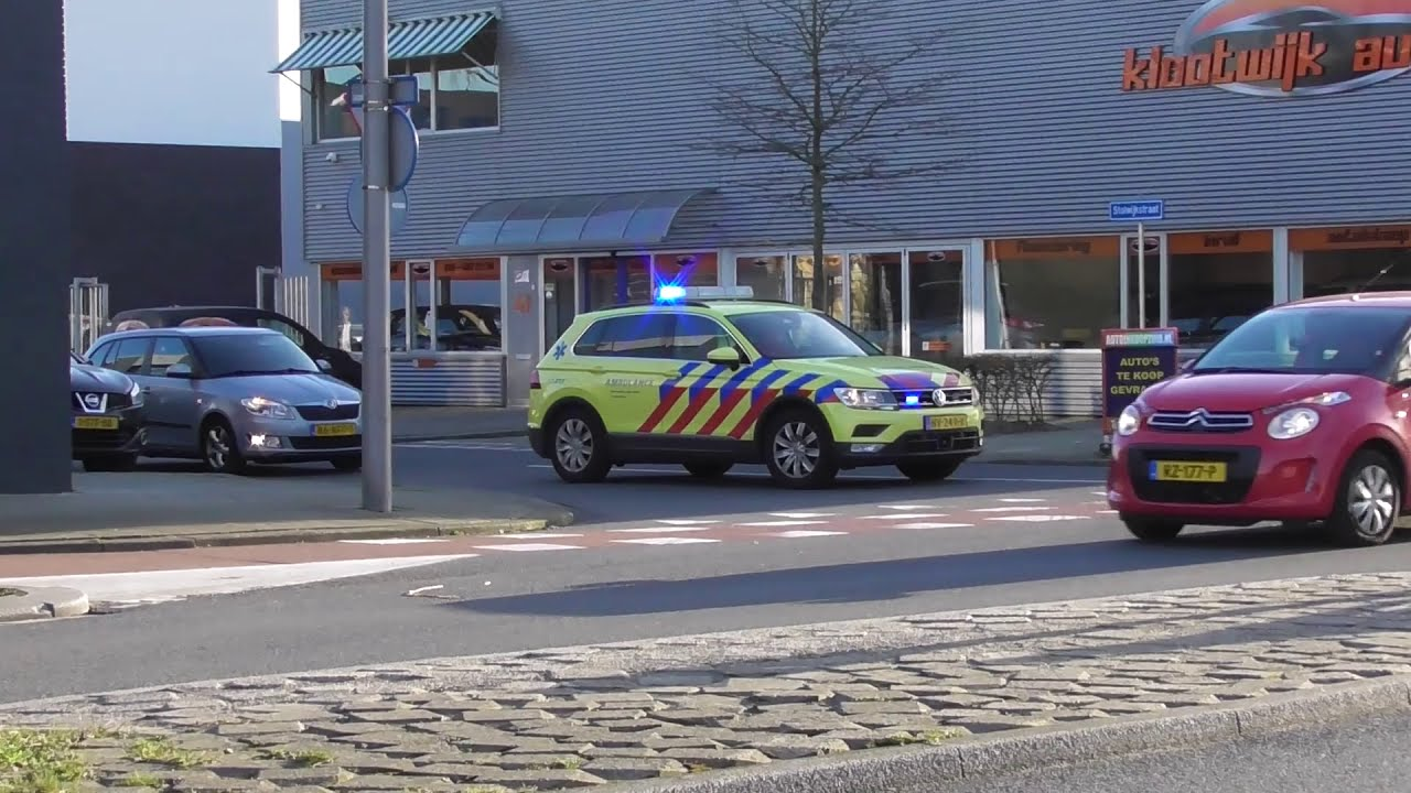 [Primeur!] 17-9081 en meer met spoed naar een grote brand in IJsselmonde