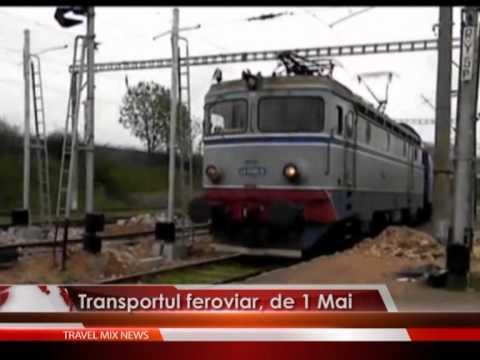 Transportul feroviar, de 1 Mai