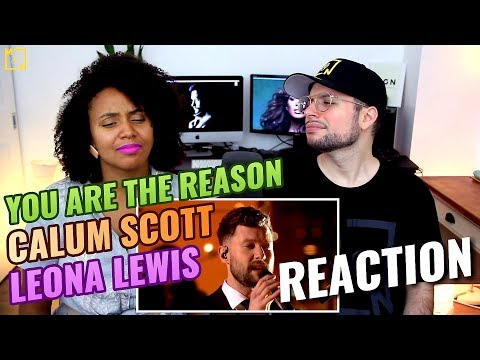 Calum Scott x Leona Lewis - You Are The Reason   Live - The One Show   REACTION