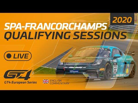 ト-タル・スパ24時間 GT4 予選のライブ配信動画