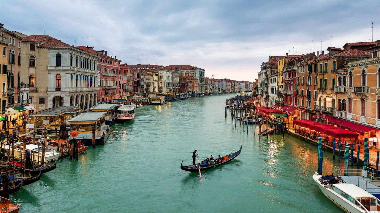 canal, grand canal, canale grande, italy, venice, europe
