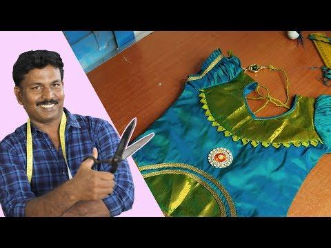 Simple & Grand Pattu Pavadai Sattai | Cutting & Stitching | Tailor Bro