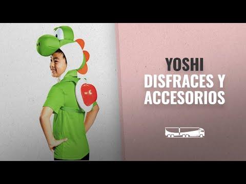 10 Mejores Disfraces Y Accesorios De Yoshi: Generique - Kit Yoshi Nintendo niño Única