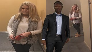 Download Video White Woman Blocks Black Man From Entering Luxury Loft & Follows Him Home MP3 3GP MP4
