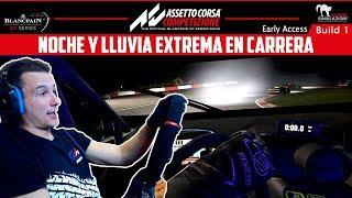 ASSETTO CORSA COMPETIZIONE | NOCHE Y LLUVIA EXTREMA EN CARRERA | GTro_stradivar Gameplay Español