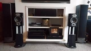 Polk Audio RTiA1 Hi Fi Bookshelf Speakers Sound Test