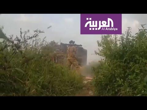 العرب اليوم - معارك الجيش الوطني اليمني في مديرتي الظاهر وحيدان