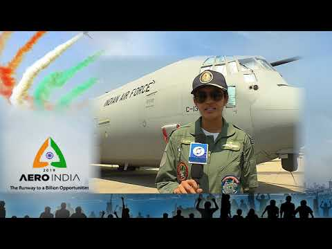 Flight Lieutenant Sherin Kuriakose on AERO INDIA 2019