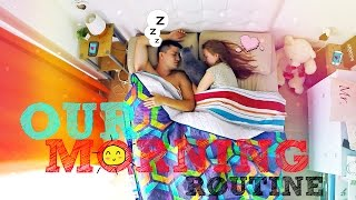 OUR MORNING ROUTINE! | НАШЕ УТРО! | SWEET HOME