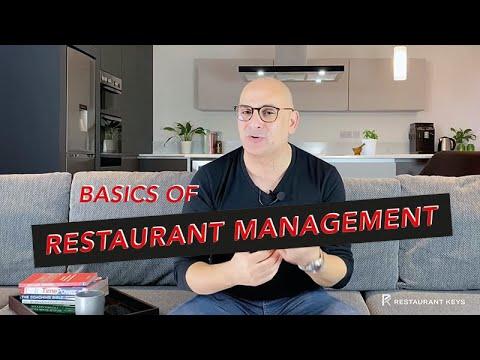 The Basics of Restaurant Management | How to Run a Restaurant