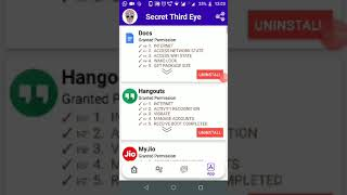 Secret 3rd Eye mobile application : Capture image of intruder who tried to unlock your device.