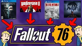 SOMETHING ELSE That could EXPLAIN Fallout 76 & it's Failure (Games Industry Investors & Poor Sales)