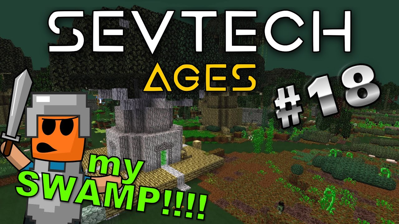 Minecraft - The Betweenlands ... Age 3 - SevTech Ages #18