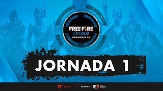 Jornada 1 | Free Fire League LAS | Mapa 5