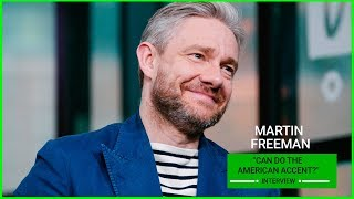 Martin Freeman Does An Amazing American Accent!👀
