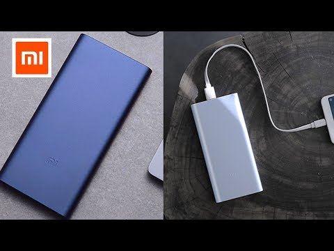 Xiaomi Mi Power bank 2 10000mAh Video Review [4k] RisoFan / РисоФан