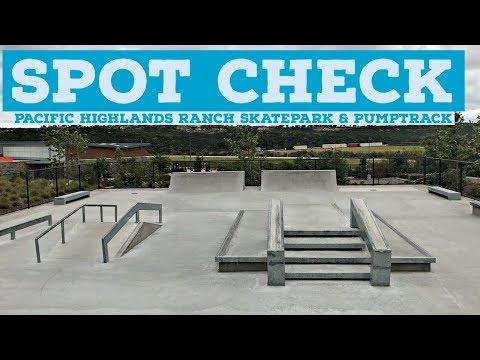 [4K] SPOT CHECK: Pacific Highlands Ranch Skatepark & Pumptrack