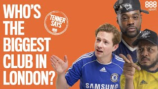 TROOPZ V EXPRESSIONS V JENNINGS: WHO'S THE BIGGEST CLUB IN LONDON? A Tenner Says | 888sport