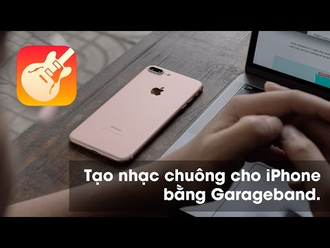 Hướng dẫn cài nhạc chuông cho iPhone bằng Garageband