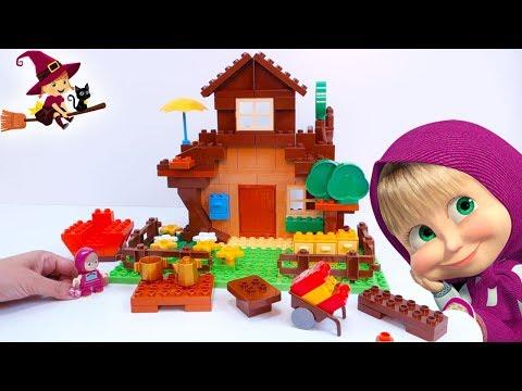 Juguetes de Bloques de Construcción de Masha y Oso