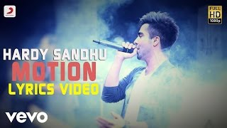 Hardy Sandhu - Motion | This Is Hardy Sandhu | Lyric Video