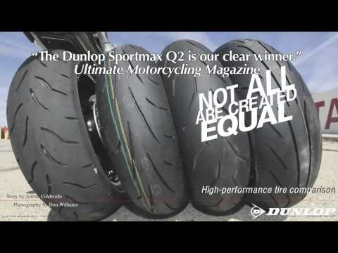 Official Dunlop Tire Review – Sportmax Q2 Street / Track Motorcycle Tire