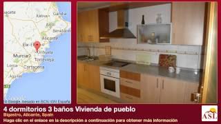 preview picture of video '4 dormitorios 3 baños Vivienda de pueblo se Vende en Bigastro, Alicante, Spain'