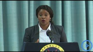 Kanze Dena says any official statement on the Ebola virus will be
