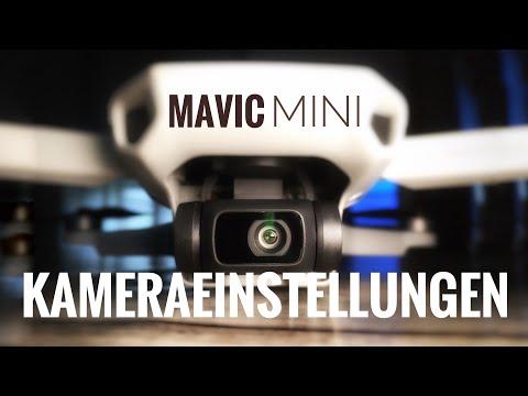 Dji Mavic Mini Kameraeinstellungen deutsch