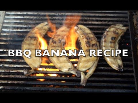 BBQ BANANAS DESERT RECIPE – GregsKitchen