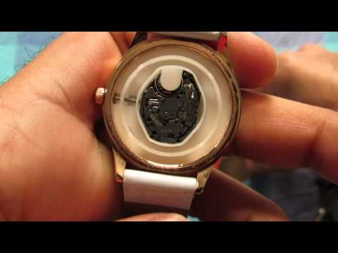 Change Watch Battery SR626SW AG04