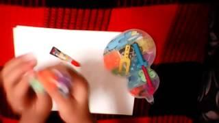Видео урок по плетению из резинок ,заколки .