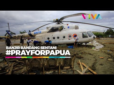 Video Amatir Banjir Bandang Sentani Jayapura